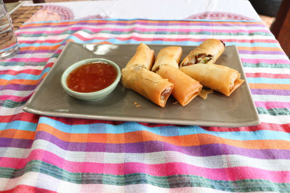 Recipe Por Pieer Tod Spring Rolls With Sweet Chili Sauce